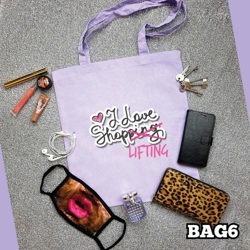 Love Shopping Tote Bag