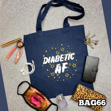 Diabetic AF Tote Bag