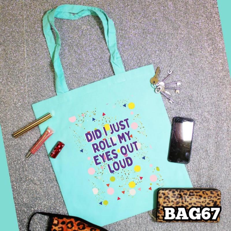 Roll My Eyes Tote Bag