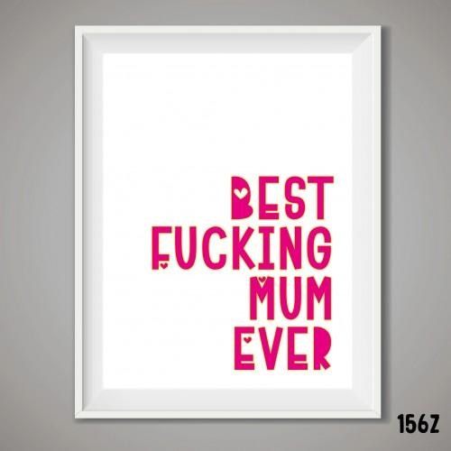 Best Mum Print
