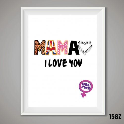 Mama Power Print