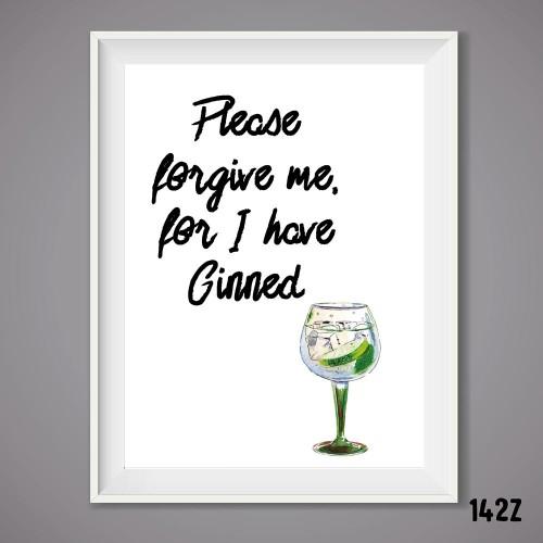 Forgive Me Print