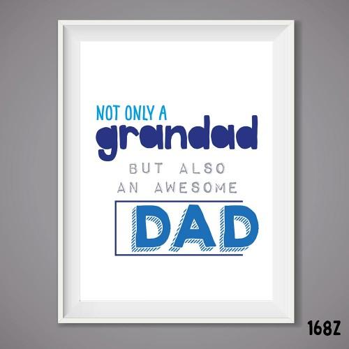 Grandad Dad Print