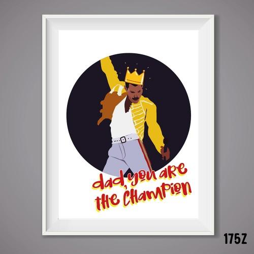 Dad Champion Print