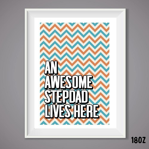 Awesome Stepdad Print