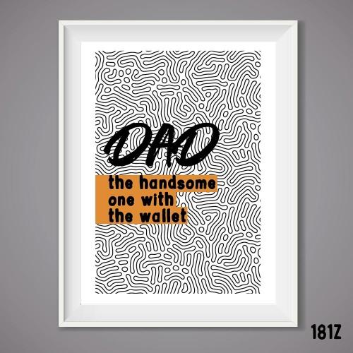 Dad Wallet Print