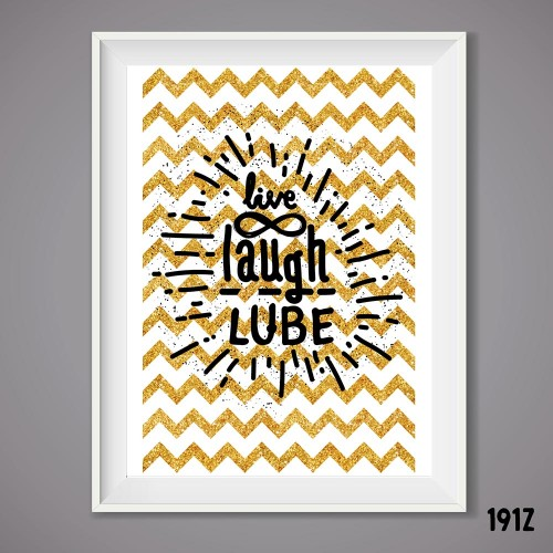 Live Laugh Wall Print