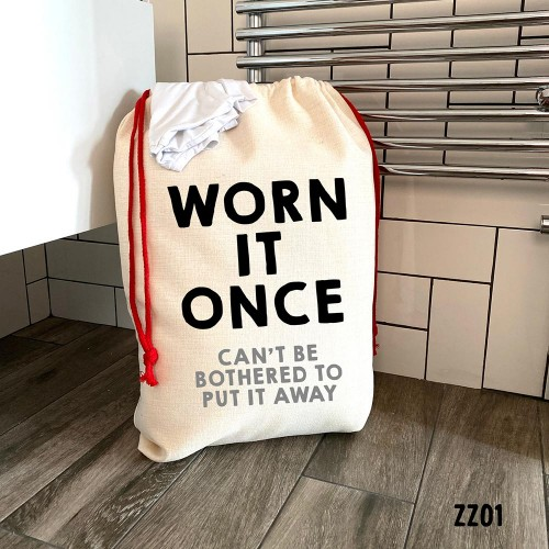 Worn it Once Laundry Bag
