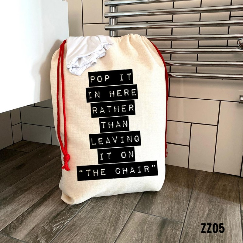 The Chair Laundry Bag