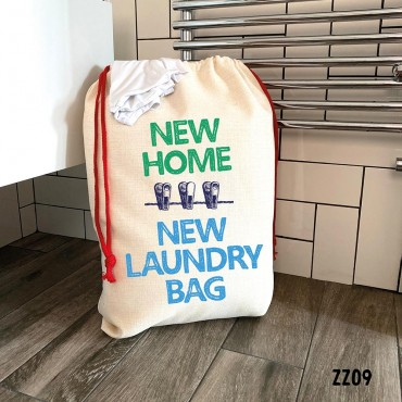 New Home Laundry Bag