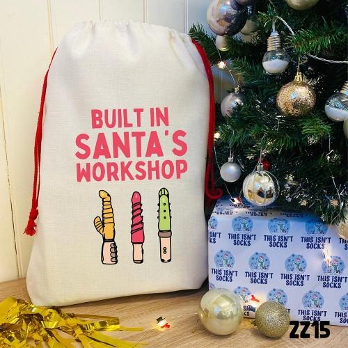 Santa's Workshop Sack
