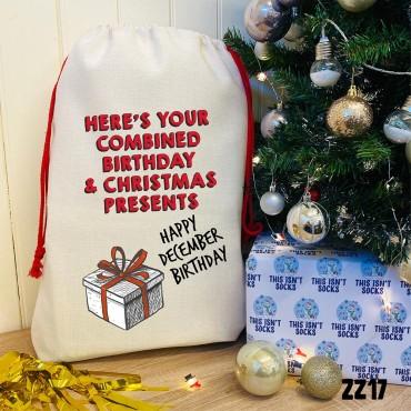 Combined Present Sack