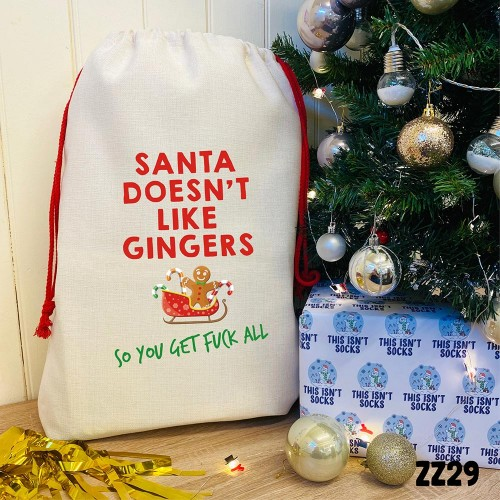 A Sack for Gingers