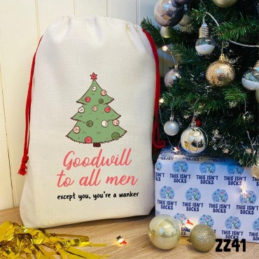 Goodwill to all Men Sack