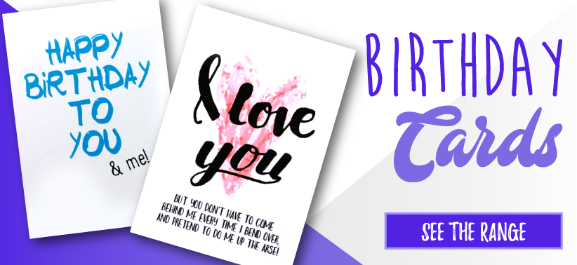 Funny Birthday Card Banner