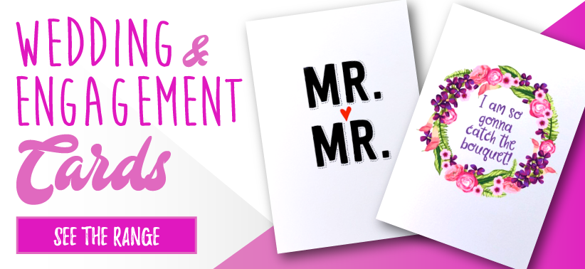 Wedding and Engagement Cards Banner