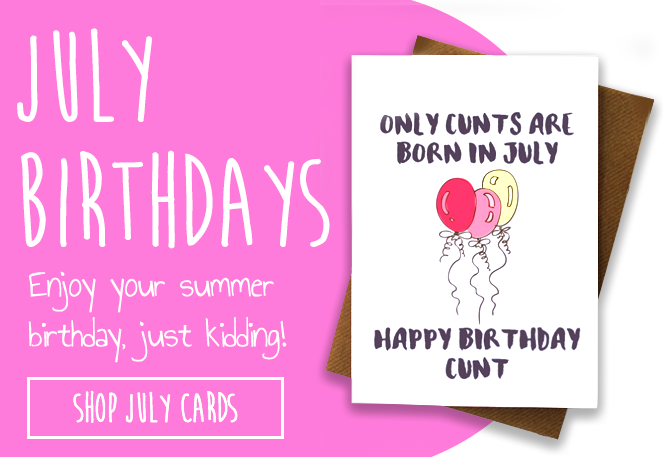 June Birthdays funny cards